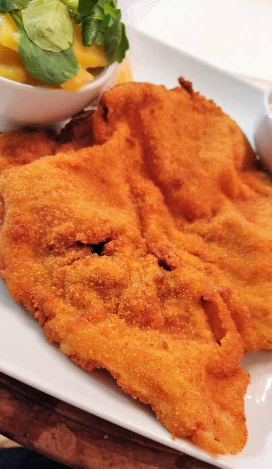 A schnitzel